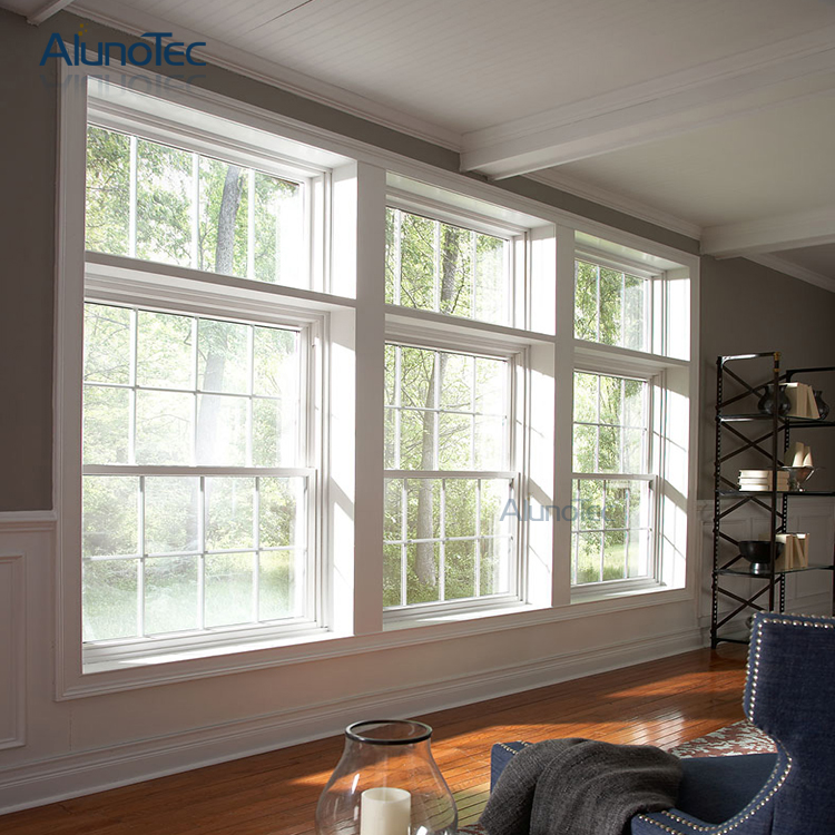 america style double hung window retro fitted