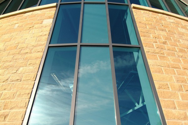 sas otley library close up with glass